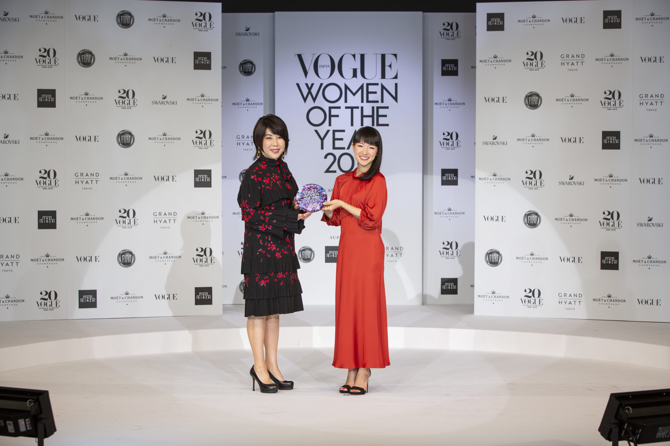 VOGUE JAPAN Women of the Year 2019に選出されました